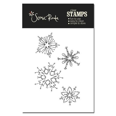 SRA012_A_Snowflake_Clear_stamp_backer