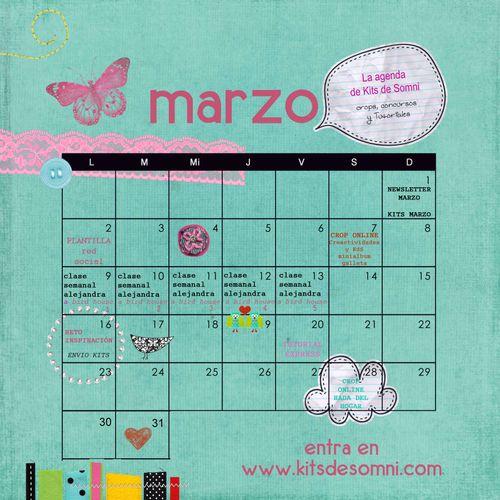Calendario marzo b