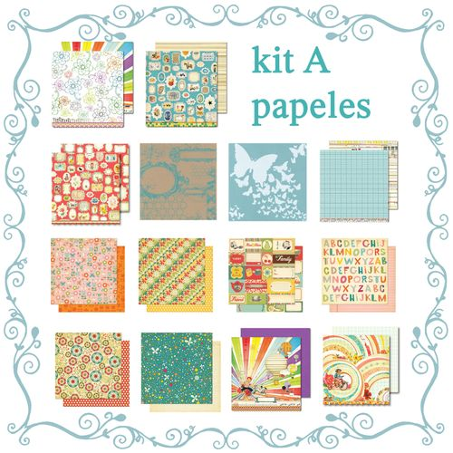 Mural kit A papers